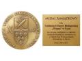 Medal od Państwowej Wyższej Szkoły Zawodowej w Nysie